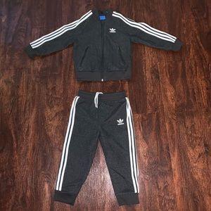 Toddler adidas sweatsuit